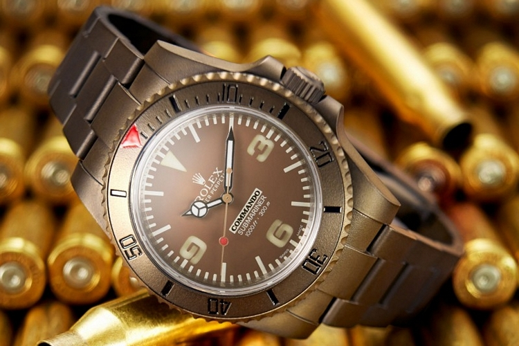 Bamford Watch Department's Rolex Commando Collection – CLAD