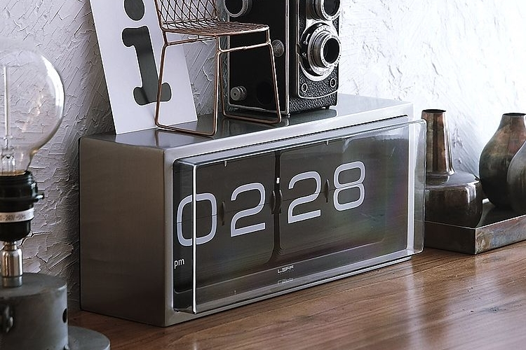 Leff Brick Flip Clock 2 Design