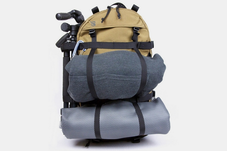 Seagull Nightshift V2 Backpack Multiple Straps On The Front And Sides Allow You To Load This With Everything From Tripods Bike Wheels
