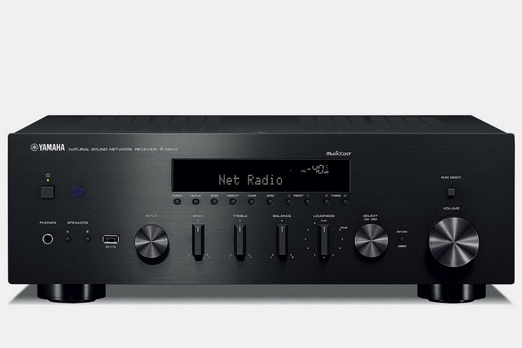 Yamaha r n602 stereo receiver clad for Yamaha multi room receiver