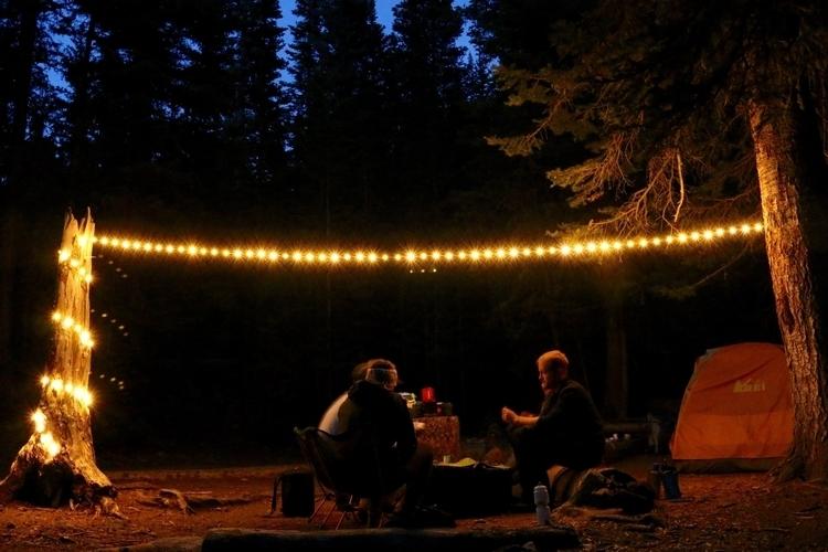 String Lights Outdoor Camping : Revel Solar-Powered Camp Light CLAD