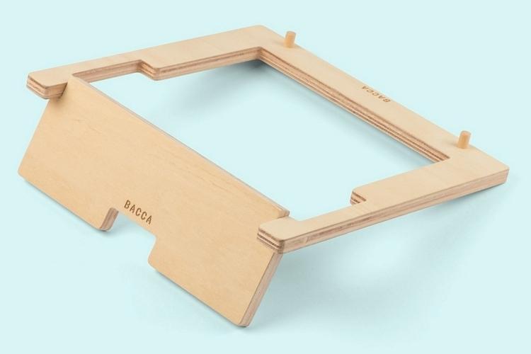 Bacca Desktop Wooden Laptop Stand Clad