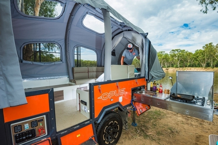 Air Opus Pop Up Inflatable Camper Clad
