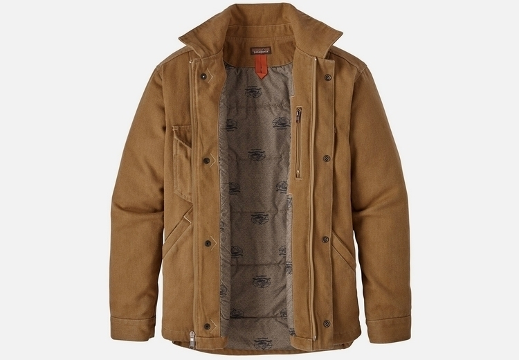 Patagonia Iron Forge Hemp Canvas Ranch Jacket Clad