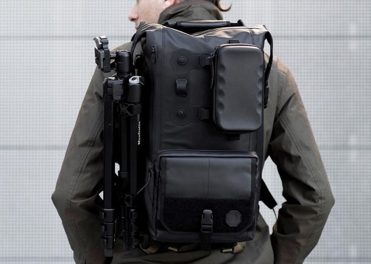 Black Ember Modular Backpack Clad